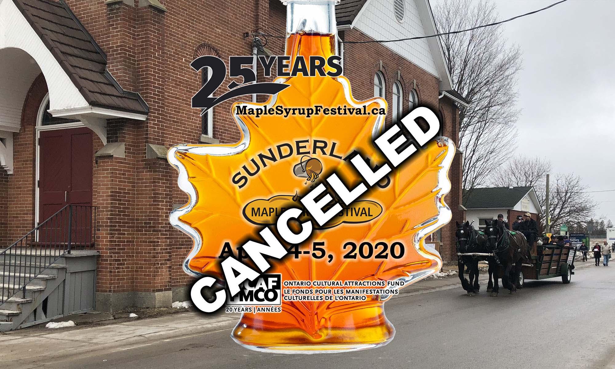 Sunderland Maple Syrup Festival