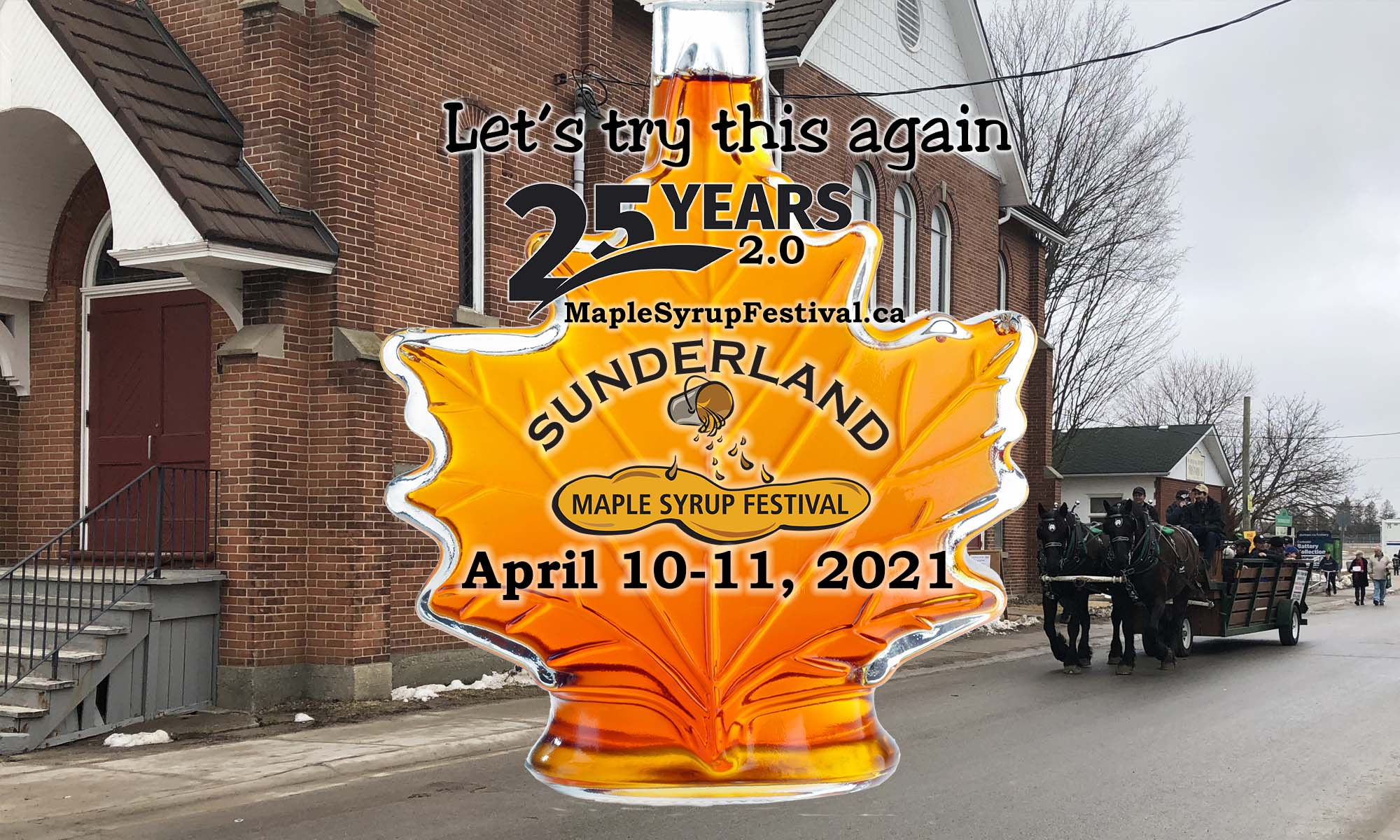 Sunderland Maple Syrup Festival - 25 Years