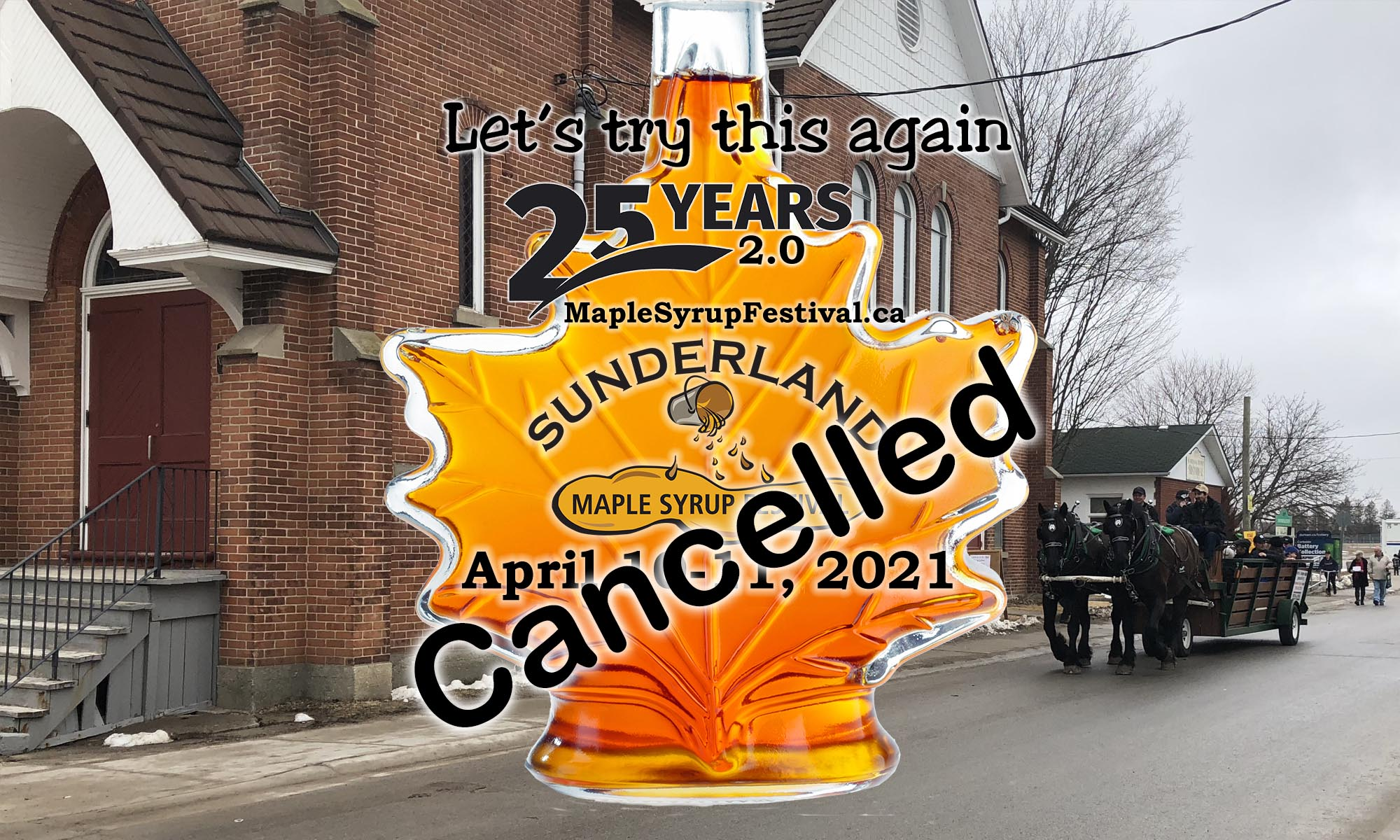 Sunderland Maple Syrup Festival - 25 Years